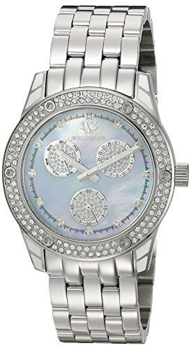 Wellington Mataura WN507-131 - Reloj analógico de cuarzo para mujer, correa de acero inoxidable color plateado