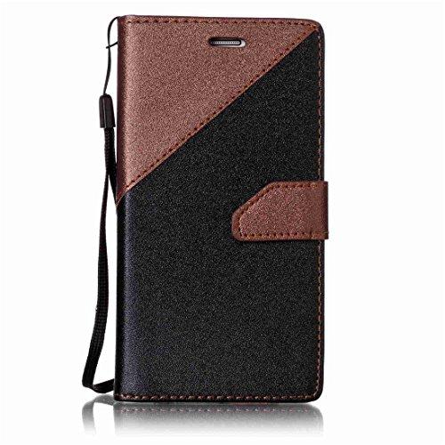 Nancen Compatible with Handyhülle Galaxy S7 / SM-G930 (5,1 Zoll) Hülle PU Leder Tasche Schutzhülle Flip Case Wallet für, Magnetverschluss Standfunktion Brieftasche und Karten Slot -