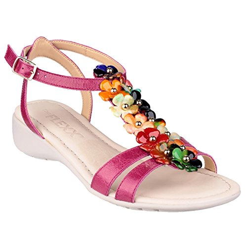 The Flexx, Sandali donna fucsia/multi