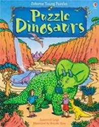 Puzzle Dinosaurs (Usborne Young Puzzles)