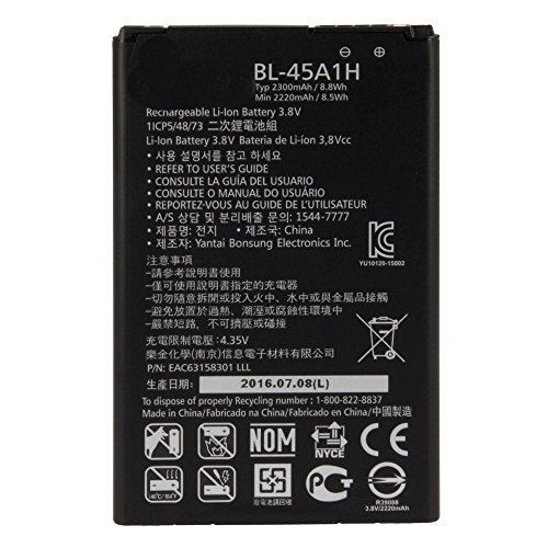 Bateria LG K10 BL-45A1H No Valida Para El Modelo LG