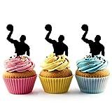 Water Polo Player Kuchenaufsätze Hochzeit Geburtsta Acryl Dekor Cupcake Kuchen