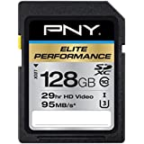 PNY P-SDX128U395-GE Carte mémoire SD 128 Go