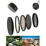 Digital Slim Filter Komplettset Pro für 40,5mm Objektive - Slim UV MC Pro II - Slim Zirkular Polfilter - Slim ND64 Neutral Graufilter + Bonus