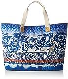 Desigual Women's BOLS_ALTEA Turner Bag, Blue (5000), 16x39x50 cm (B x H x T)