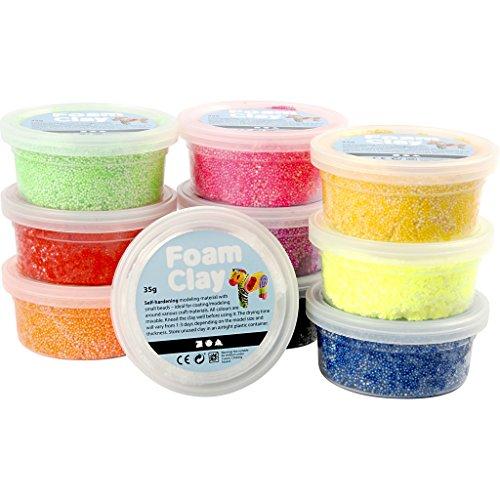 Foam Clay, Vari Colori, 10X35G