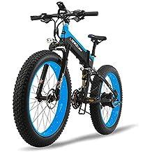 JPFCAK, Eléctrico, Bicicleta, Plegable, Montaña, Bicicleta, Neumático De Nieve 10cm