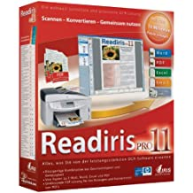 IRIS Readiris Pro 11.0 DVD Case