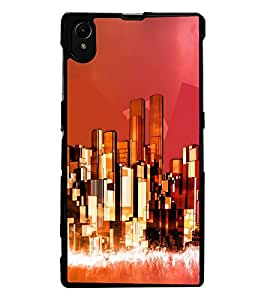 ColourCraft Printed Design Back Case Cover for SONY XPERIA Z1