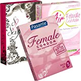 Der Kondomotheke® Ladies Mix - 3 Sorten Frauenkondome