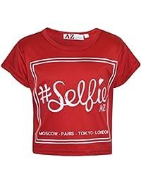 62009adc7ea26 Amazon.fr : Crop Top - T-shirts, tops et chemisiers / Fille : Vêtements