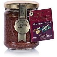 Paté de Aceitunas Negras y Trufas Negras de las Langhe (180 g)