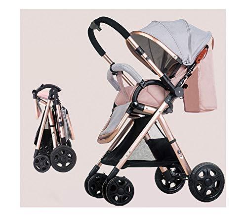 Kaysa-TS Trio Travel System Pram & Luxury Stroller 3 In 1 Complete Pink -