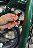 ACE Bremshebel Position Adapter für Brompton Fahrrad schwarz