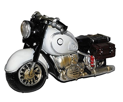 spardose-motorrad-oldtimer-grau-stabile-sparbuchse-aus-kunstharz-bike-biker-fahrzeug-old-style-fahrs