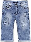 BEZLIT Jungen Jeans Bermuda Shorts Totenkopf Motiv 22681 Größe 146