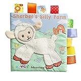 BABYBON Stoffbuch Frühbuch Baby Spielzeug Spielbuch Bildbuch