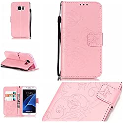 Nancen - Bolso pequeño al hombro para mujer rosa rose Samsung Galaxy S6 / G9200