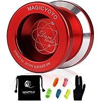MAGICYOYO N8 Unresponsive Yoyo Alloy Aluminum Yo Yo + 5 Strings + Glove+Yoyo Bag Gift