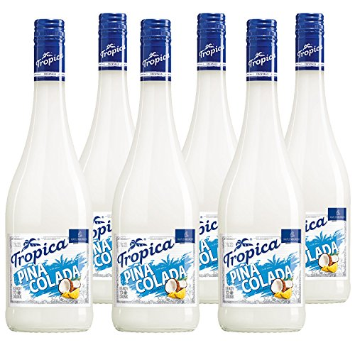 KATLENBURGER Tropica Piña Colada 6 x 0,75 l, trinkfertiger Cocktail; 70% Fruchtwein, Cocosgeschmack, 3,5% Ananassaft; mit Kohlensäure; 7% vol.