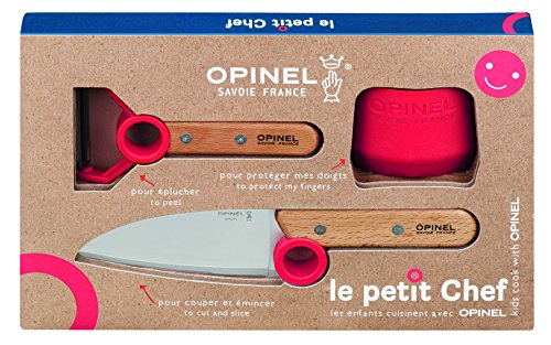 Opinel Messer Opinel Le petit Chef, Küchenmesser-Set,...