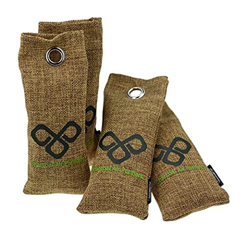 Activated Bamboo Charcoal Deodoriser Bags by Vitchelo.