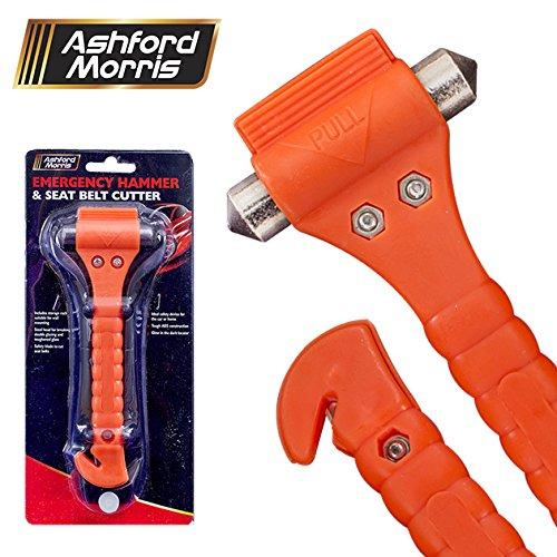 Tool Tech - Sierra para metal de emergencia y cortador de cinturón de seguridad