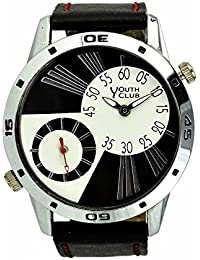 YOUTH CLUB ATTRACTIVE EYE CACHE ANALOG MULTICOLOR DIAL MEN'S WATCH-YCST-27