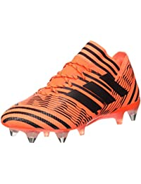 adidas Predator 18.1 FG, Chaussures de Football Homme, Marron (Oliv/Orange Oliv/Orange), 40 EU