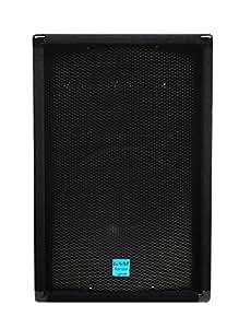 "GEMINI GSM-1260 12"" 400 Watt DJ Stage PA Loud-Speaker, with 3-Way Passive Crossovers"
