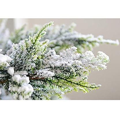 DWHX-Strmten-Christbaum-Schnee-Effekt-Auf-Schlanke-Knstlicher-Weihnachtsbaum-Fake-Tannenbaum-Christbaum-Xmas-Kiefer