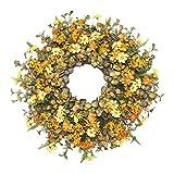 Kransen Kunstmatige Garland Voordeur Wreath 18 Inch fraaie handgemaakte Wreath Herfst Huis Perfect Decoration slingers