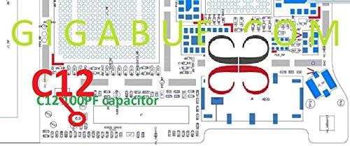 C12100pF Capacitor IC Chip Kondensator für Motherboard für iPhone 5S