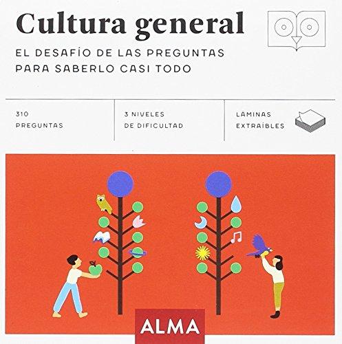 Cultura general. El desafío de las preguntas para saberlo casi todo (Cuadrados de diversión) por Albert Casasín