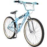 SE Bikes STR-26 QUADANGLE 26'' BMX Bike 2018 (38cm, SE Blue)