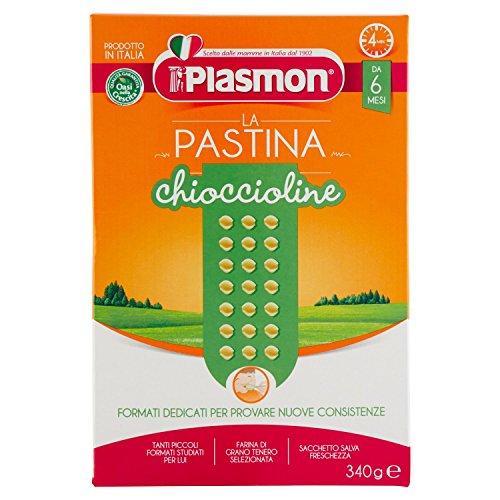 Plasmon Chioccioline con Calcio Ferro e Vitamine B 340 g