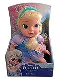 Disney Frozen Baby Elsa Doll Blue Crown/...