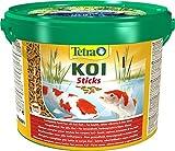 Tetra Pond Koi Sticks - Koifutter für farbenprächtige Fische und eine verbesserte Wasserqualität, verschiedene Größen