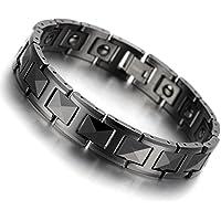 Magnetarmband 20,5 cm Schwarz Keramik Hämatit Germanium Magnet Armband B1410 preisvergleich bei billige-tabletten.eu