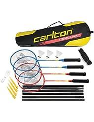Carlton complète de compétition pour Badminton 4 joueurs-Family fun jardin ou dans le Parc