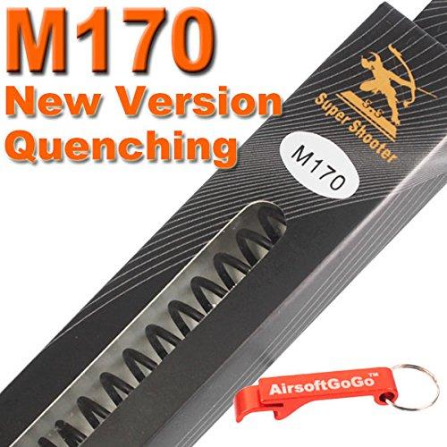 SS M170 New Version Quench AEG Feder f?r Softair Marui G&P G&G ICS Cybergun VFC - AirsoftGoGo Schl?sselanh?nger Inklusive