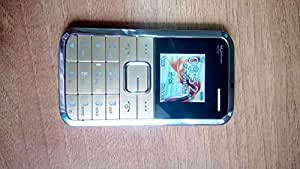 Credit card Size Mobile , ATM Size , Worlds Smallest Phone with Colour Display and Aluminium Body - GOLD Color