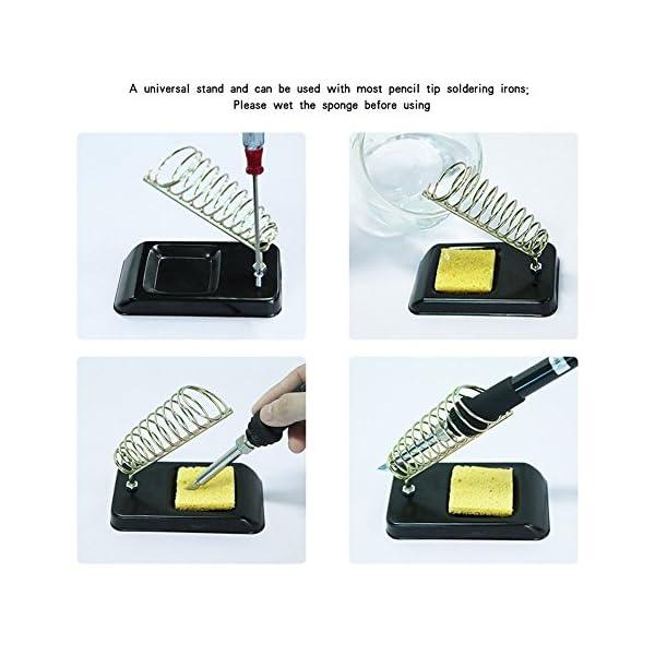 Kit del soldador Electrico, Aogolouk Soldadores de estaño de Temperatura