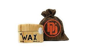 Da'Dude Da'Wax Haarwachs Männer matt - Starker Halt - Bestes professionelles styling Haarwax langanhaltend in einer hochwertigen hochwertige Holzdose