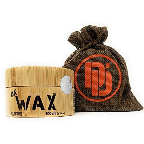 Da'Dude Da'Wax Haarwachs Männer matt - Starker Halt - Bestes professionelles styling Haarwax langanhaltend in einer hochwertigen hochwertige Holzdose -
