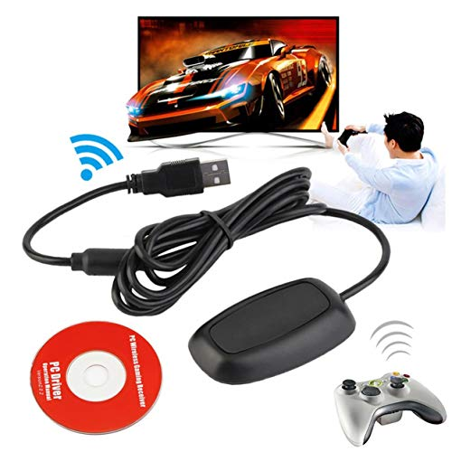 ite PC Wireless Controller Gaming USB Receiver Adapter for Xbox 360 ()