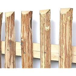 Zaunlatten aus Haselnuss • Zaunbretter 5-6 x 200cm zum Selbstbauen von Holzzaun, Lattenzaun, Staketenzaun bzw. Kastanienzaun