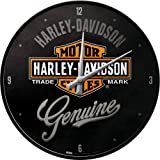 Nostalgic-Art 51082 Harley-Davidson - Genuine, Wanduhr 31cm