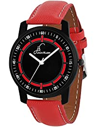 Jack Klein Red And Black Collection Analog Watch For Men