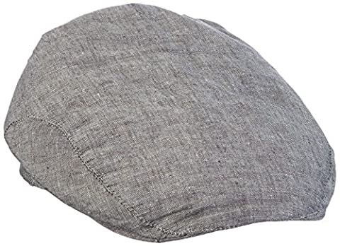 Mount Hood Men's Flat Cap - Grey -
